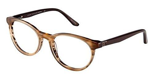 Ann Taylor ATP803 Eyeglass Frames - Frame BROWN HORN, Size - Taylor Eyeglasses