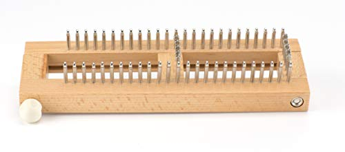 Authentic Knitting 9''x3'' Sock Loom Knitting Board W/DVD- by Authentic Knitting Board (Image #2)