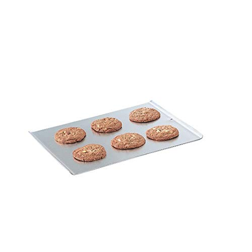Vollrath 68085 Wear-Ever Cookie Sheet Pans, Set of 2 (17-Inch X 14-Inch, Natural Finish Aluminum, NSF) - Pecan Finish Chocolate