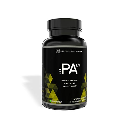 PA(7) Phosphatidic Acid Muscle Builder by HPN | Top Natural Muscle Builder - Boost mTOR | Build Mass and Strength from Your Workout