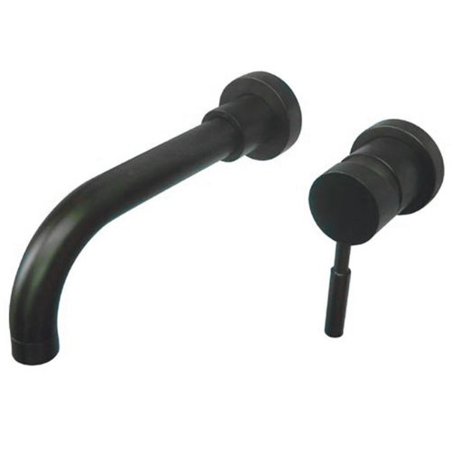 Kingston Brass KS8115DL Concord Wall Mount Single Lever Handle Sink Faucet, Oil Rubbed Bronze