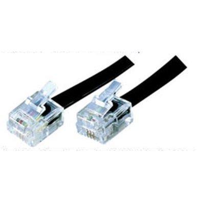 2 m ADSL-Kabel – Premium-Qualität/vergoldete Kontaktstifte/High ...