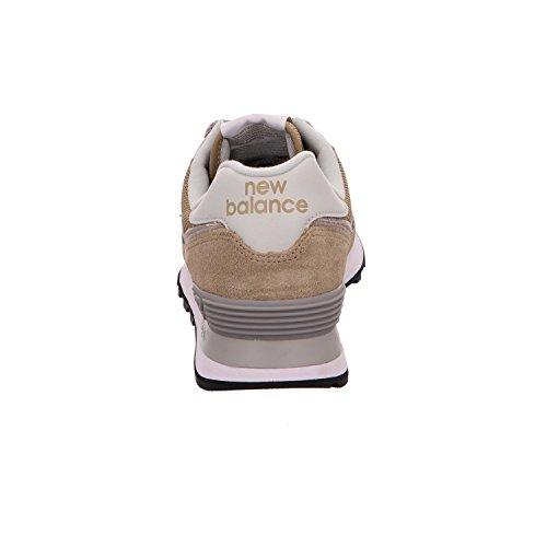 Herren New 574v2 Balance Braun Sneaker OTq8f1TP