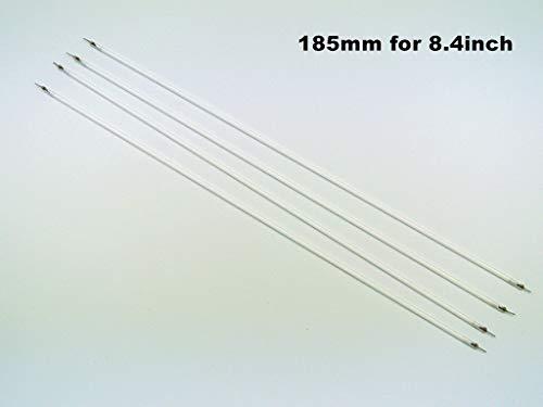 FidgetKute 4pcs 185×2.0mm 8.4inch LCD CCFL lamp Backlight lamp/Bulb/Tube for Industrial