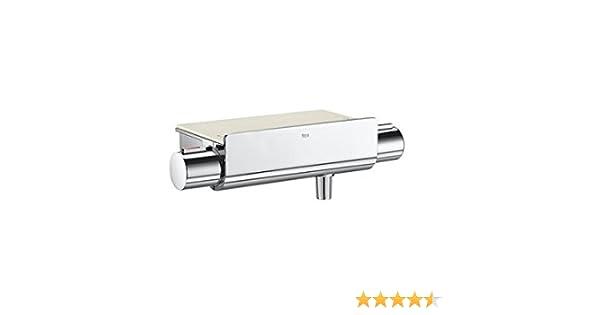 Roca T 1000 - grifo termostático exterior para ducha con repisa ...