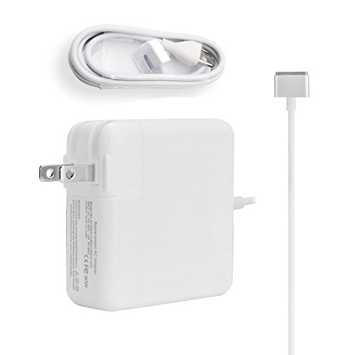 Macbook Pro Charger 60w Magsafe 2 Magnetic T-Tip Power Adapter for Apple Macbook Pro 13.3