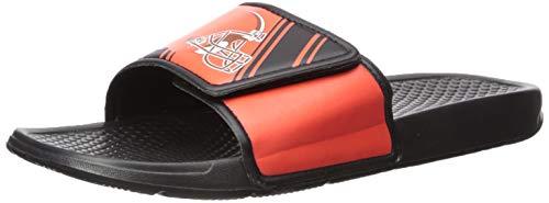 Cleveland Browns Slippers - NFL Mens Legacy Sport Slide