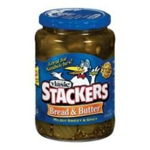 Vlasic Bread & Butter Mildly Sweet & Spicy Stackers-24 oz