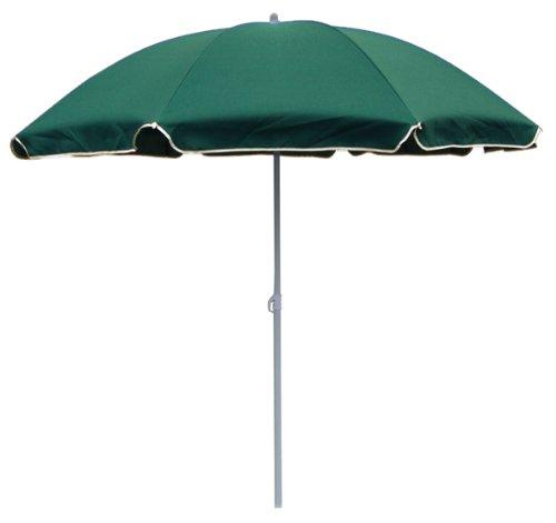 BEACH UMBRELLA: Strandschirm Sonnenschirm, 180cm, grün