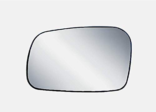 K Source for 06-11 Honda Civic 2 Door Coupe Left Driver Mirror Glass w/Rear Holder