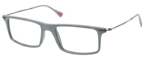 Prada (Linea Rossa) PS03EV Eyeglasses-ROR/1O1 Dark - Prada Men Eyeglasses