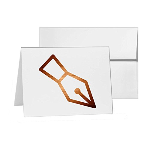 Credit Card Machine Processing Payment, Blank Card Invitation Pack, 15 cards at 4x6, Blank with White Envelopes Style (Credit Card Processing Machine)
