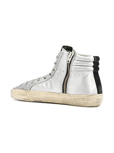 Pelle Sneakers Argento Top Goose Donna Garws595f7 Hi Golden vqxwZ8Cpv