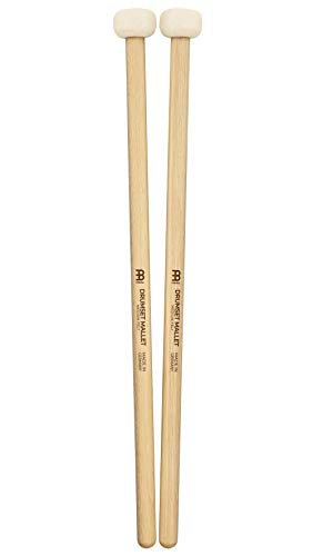 - Meinl Stick & Brush Drum Set Mallets with Medium Soft Felt Head and 5A American Hickory Handle - MADE IN GERMANY SB401
