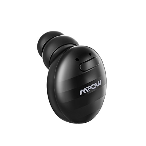 Mpow EM6 Single Mini Bluetooth Earbud, V4.1 Wireless Earbud