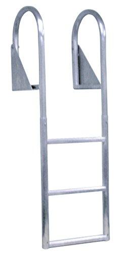 Dock Edge Aluminum Flip Up Dock Ladder, 3 Step