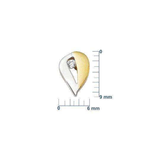 Miore - MM9040E - Boucles d'Oreilles Femme - Or jaune 375/1000 (9 carats) 1.1 gr - Diamant