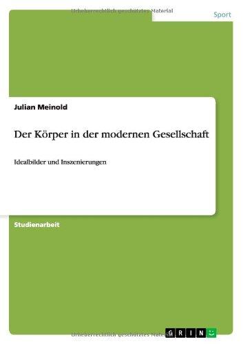 Download Der Körper in der modernen Gesellschaft (German Edition) ebook