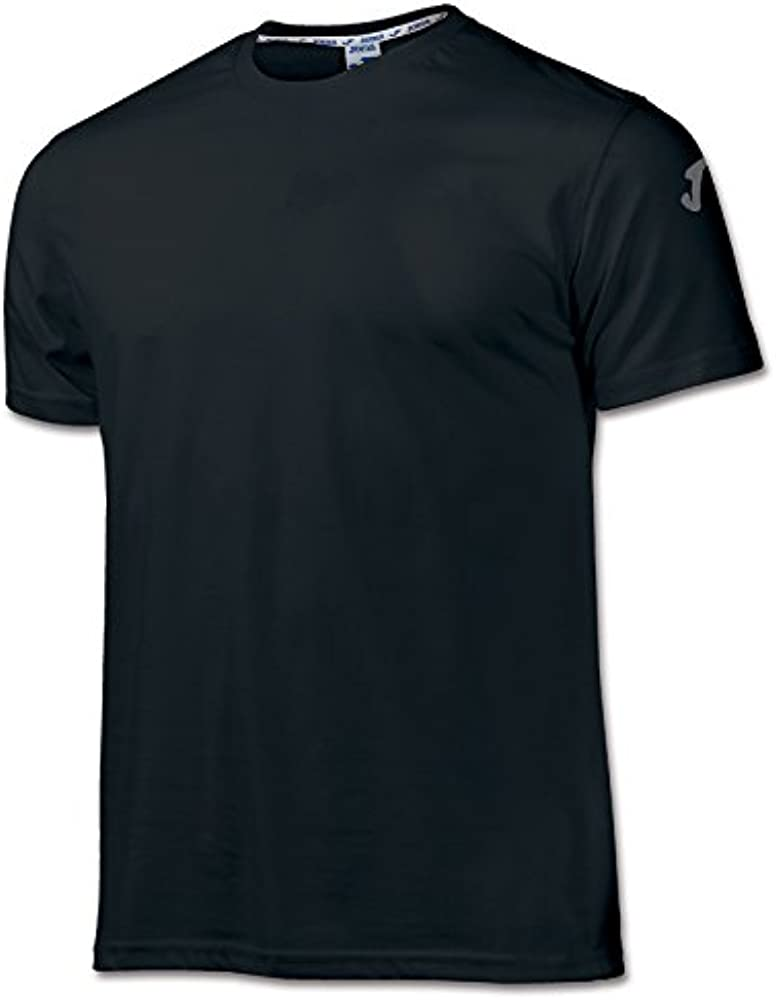 Joma - Camiseta Cotton Negro m/c para Hombre: Amazon.es: Ropa y ...