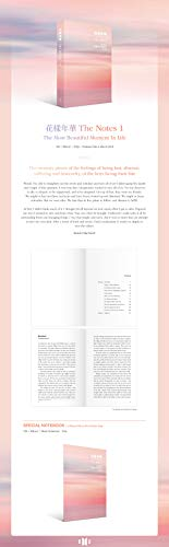 BTS - [花樣年華 The Notes 1 The Most Beautiful Moment in Life] ENG 230p Book+Pre-Order(64p Special Note Book)+Tracking K-POP Sealed by BTS (Image #1)