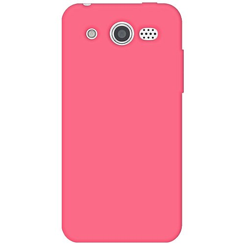 Silicone M886 (Amzer Silicone Skin Jelly Cover Protector Case for Huawei Mercury M886 - Retail Packaging - Baby Pink)