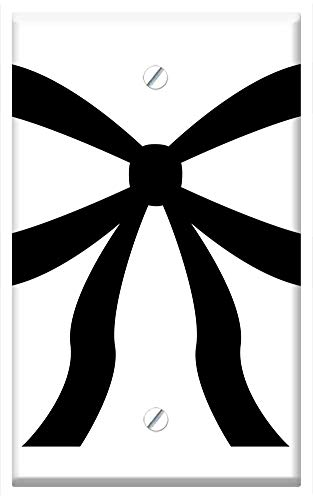 Single-Gang Blank Wall Plate Cover - Gift Loop Bind Decoration Packaging Packed -