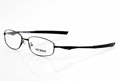 Amazon.com: Harley Davidson Eyeglasses HD363 Black Optical Frame ...
