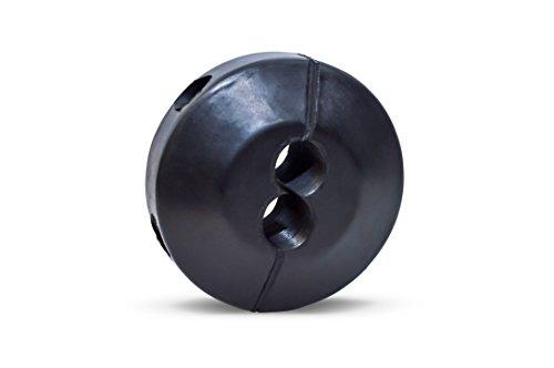 (Coxreels 635 Medium Pressure Dual Hose Ball Stop for Spring Driven Reel,Black 3/8