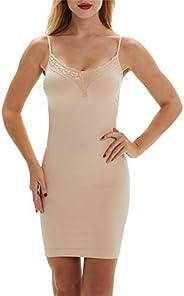 Franato Women's Control Full Slip Dress Shaperwear Slim Body Shaper Smoo