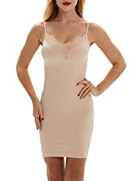 Franato Women's Control Full Slip Dress Shaperwear Slim Body Shaper Smoother