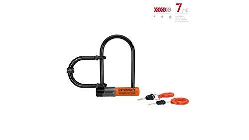 Kryptonite Messenger Mini+ Wheel Extender 11mm U-Lock Bicycle Lock ()