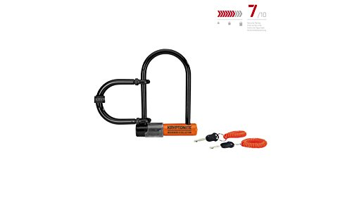 Kryptonite Messenger Mini Plus Wheel Extender Heavy Duty Bicycle U Lock Bike Lock