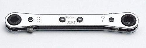 コーケン ラチェットスパナ 6mm×7mm 102KM-6X7