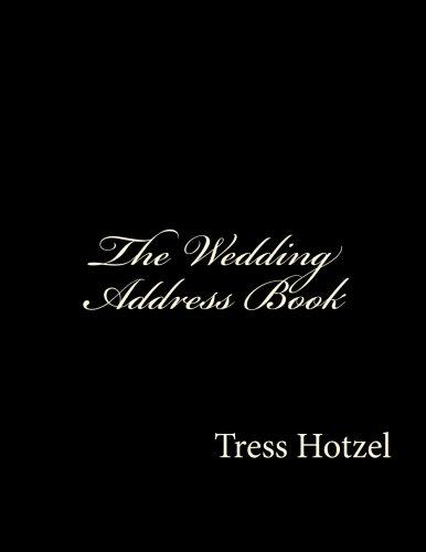 Wedding Address Book - 1