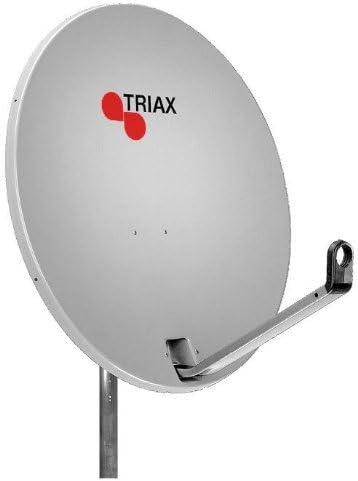 Triax TD64 64 cm Antena parabólica Solid Color Gris Claro con ...
