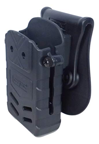 Tactical Scorpion Rifle Polymer Magazine Belt Paddle Pouch Fits: M - AR Magazine (Best Steel Ar 15 Magazines)