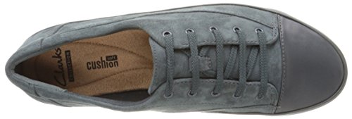 Clarks Green Camiã³n Piso Gracia Leather Dark Suede xv41qwSxF