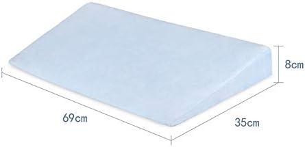 Trkee Baby Sleep Positioner Pillow Anti-Reflux High Incline Newborn Baby Crib Wedge