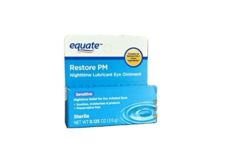 Equate Nighttime Lubricant Eye Ointment Sensitive, Compare to Refresh ()