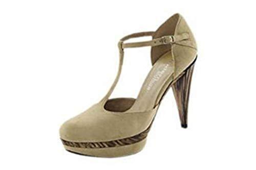 Beige Beige Modern Pumps Cuero Vestir De Mujer Woman Zapatos beige w8qw6F