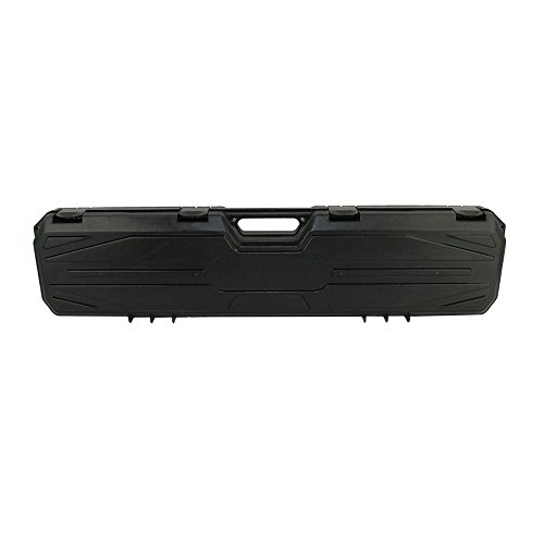"""42"""" #210 Black Hard Rifle Case with Convoluted Foam"""