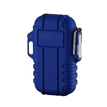 Encendedor Eléctrico, Encendedor USB para Batería, Cigarrillos, Resistente al Viento, para Velas