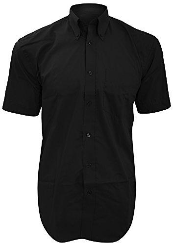 Kustom Kit-Maglietta a maniche corte da donna City Business KK385 colore: nero