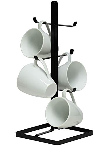 (Neat-O Metal Mug Tree Holder Organizer Rack Stand)