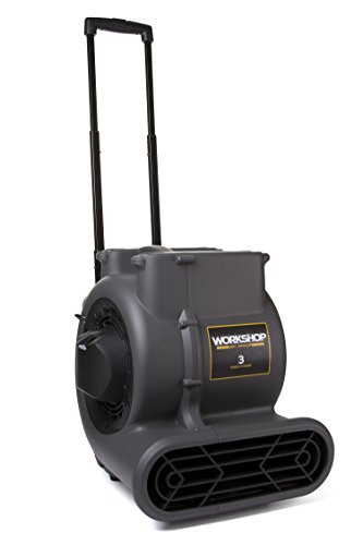 WORKSHOP WS1625AM Air Mover Fan & Carpet Dryer, High Velocity Blower Fan...