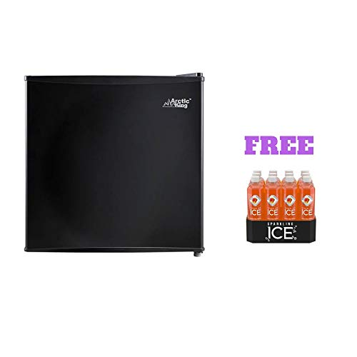Arctic King Freezer (1.6 cu ft, Black with Free)