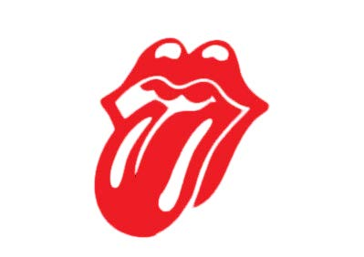 Morgan Graphics Large Rolling Stones Tongue Decal Sticker 12-inch Tall Vinyl Decal Sticker Car Waterproof Car Decal Bumper Sticker 5""