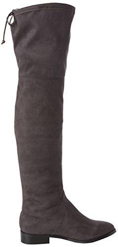 Madden Overknee altas Steve Gris Botas Footwear Odina mujer 41nqwTg