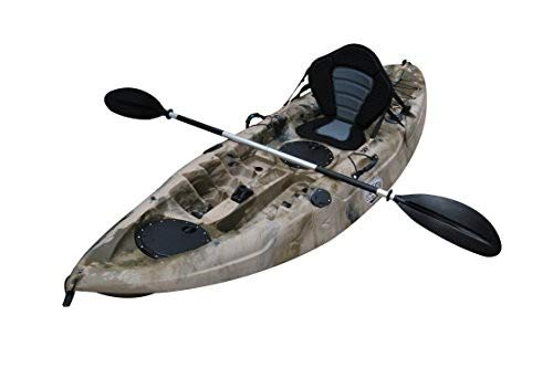 BKC UH-FK184 9′ Sit on Top Single Fishing Kayak Image