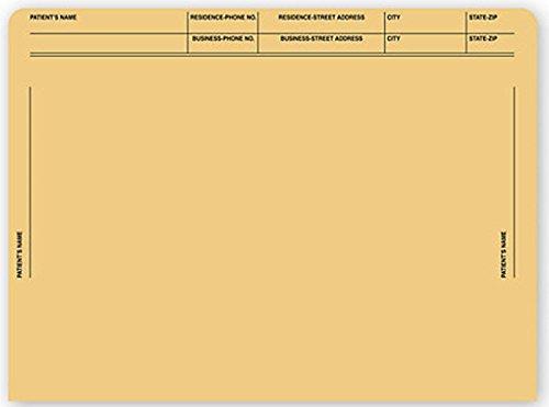EGP File Pocket Envelopes 40 lb Kraft Printed, 250 Envelopes